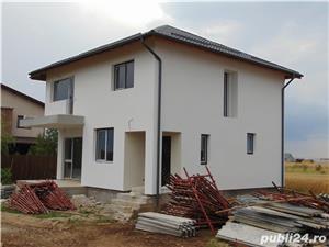 FARA COMISIOANE casa cu 4 camere si 2 bai P+1+pod terasa finisaje canalizare LA CHEIE merita vazuta - imagine 1