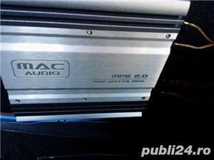 Statie Mac + subwoofer auto Ground Zero 350W RMS - imagine 1
