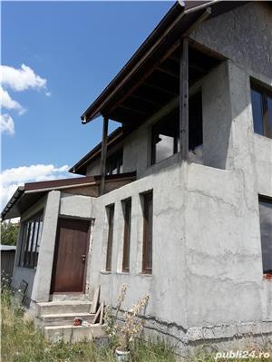 Vand - teren + casa (la gri) - oras Mihailesti - 20 km de Bucuresti - imagine 4