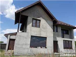 Vand - teren + casa (la gri) - oras Mihailesti - 20 km de Bucuresti - imagine 2