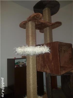 Ansamblu de joaca pisici Sisal/spatiu pisici/jucarii animale - imagine 4