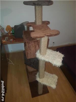 Ansamblu de joaca pisici Sisal/spatiu pisici/jucarii animale - imagine 3