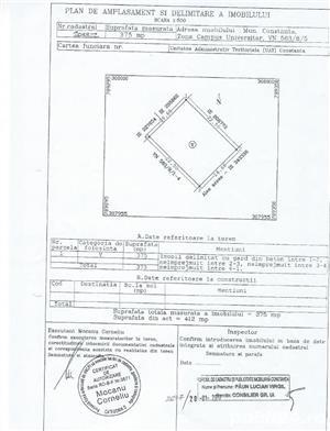 Urgent! Teren Campus Constanta cu autorizatie D+P+2+NT la 2 minute de Statiunea Mamaia - imagine 1