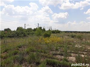 vand locatie pentru parc auto 23522m.partial betonati la38 km de Bucuresti Bucsani jud Giurgiu - imagine 4