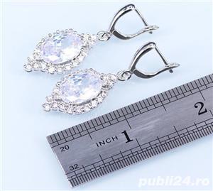 Set bijuterii din argint cu piatra din Opal - imagine 5