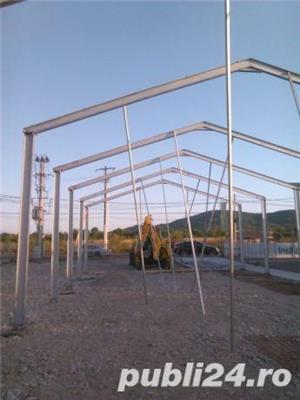 Vand ferme hale structuri metalice sau schimb cu auto - imagine 1