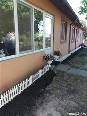 Vand/schimb casa, curte mare, in Nanov, TR cu apartament in Alexandria - imagine 1