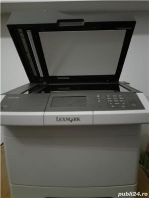 Multifunctionala color Lexmark CX 410 aproape noua - imagine 3