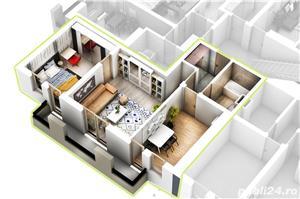 Apartament 2 camere- zona PREMIUM in Selimbar- strada N.Brana - imagine 5