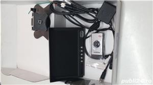 Monitor auto Ampire rvm 072 , alimentare 12/24 v 7 inchi 17,7 cm pt  Camera marsarier  - imagine 9