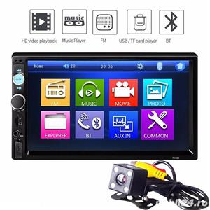 "Auto Player ecran7""HD Touchscreen Bluetooth RadioUSB,Camera,Mp3,Mp4 AutoVideo Player ecran7""HD  - imagine 1"