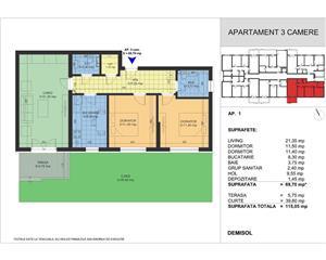 Apartament 3 camere, 5 min Aparatorii Patriei, parcare subterana - imagine 10