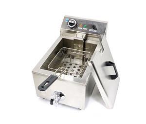 Friteuza electrica 6 litri cu robinet - imagine 2