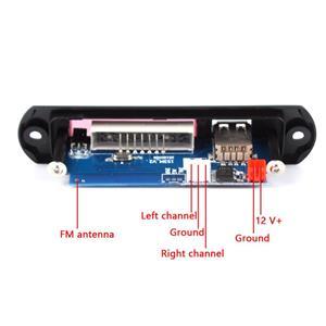 Bluetooth mp3 decoder WMA FLAC de pe USB stick si card microSD cu radioFM - imagine 3