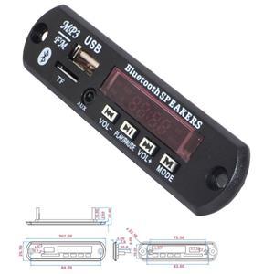 Bluetooth mp3 decoder WMA FLAC de pe USB stick si card microSD cu radioFM - imagine 4