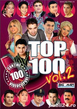 Top 100 Vol 2 - Dvd Manele - imagine 1