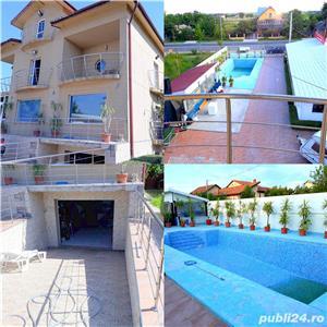 Vila-piscina Mihailesti-la strada-toate dotarile-afacere - imagine 3