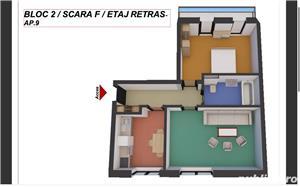 Dezvoltator, 2 camere confort 1, decomandat, etaj 2. Comision 0! - imagine 1
