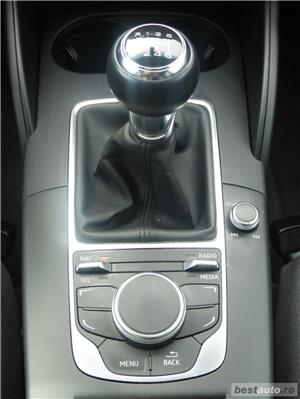 Audi A3 Limuzina clean diesel EURO6 NAVI Xenon LED 09.2015 - imagine 11