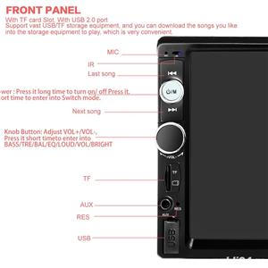 "Auto Player ecran7""HD Touchscreen Bluetooth RadioUSB,Camera,Mp3,Mp4 AutoVideo Player ecran7""HD  - imagine 6"