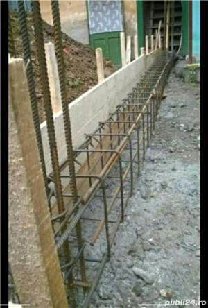 Facem Garduri diferite modeluri (din palsa bordurata sau din placi de beton si sipca detali vs - imagine 2