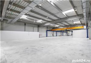 Spatiu industrial de inchiriat 1360 m2 - 4 Eur/ m2 - imagine 4