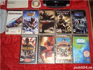 Sony PSP NOU LA CUTIE + filme si jocurii diferite accesori (schimb) - imagine 2