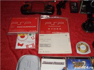Sony PSP NOU LA CUTIE + filme si jocurii diferite accesori (schimb) - imagine 3