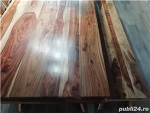 masa living lemn masiv Shan extensibila - imagine 4