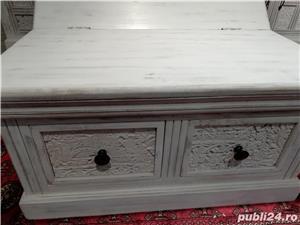 set mobila lemn sculptat Delhi - imagine 6