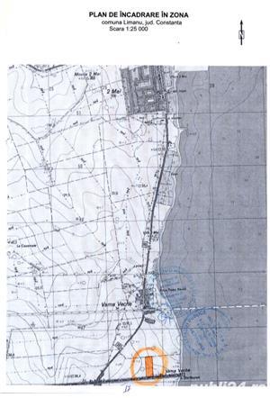 Teren intravilan Vama Veche cu certificat de urbanism P+4E la 200 m de plaja - imagine 2