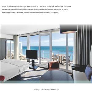 Apartament 3 camere cu vedere frontala la mare in Mamaia Nord - imagine 8