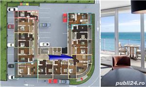 Apartament 3 camere cu vedere frontala la mare in Mamaia Nord - imagine 3