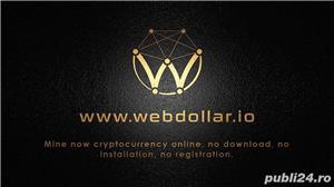 Vand WebDollar crypto moneda 5.000 Webdollar - pret Excelent  - imagine 3