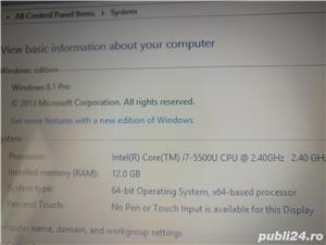 Laptop Lenovo G50-80 I7-5500U, 12 GB RAM, 250 GB SSD+ 1TB HDD,2GB ATI Video - imagine 6