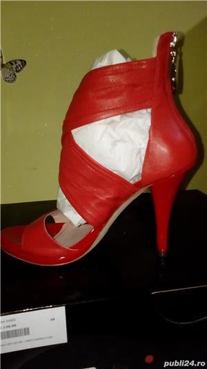 Sandale Miss Sixty noi din piele naturala 39 - imagine 4