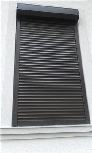 rulouri aluminiu de exterior, usi de garaj - imagine 2