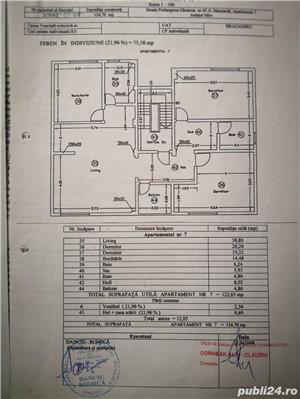 Inchiriez apartament 3 camere, 124mp utili, Cartierul Latin, PRETABIL BIROU! - imagine 2