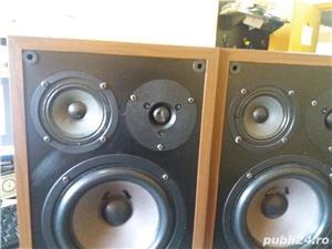 Boxe Arcus TS 15 3 cai 4 ohmi, 60w/90W, bass reflex tip labirint difuzor bass de 18 cm  - imagine 3