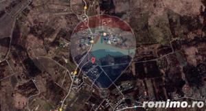 Teren  ideal pentru investitie 3734 mp.,langa Lacul Saldabagiu - imagine 12
