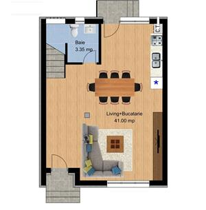 Central, vila cu 3 camere , pod , curte de 220mp ! - imagine 10