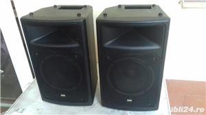 boxa activa 500w cu intrare auxiliar laptop, mobil, cd,ipod, etc ideal pentru sonorizari evenimente - imagine 12