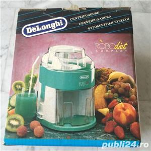 Storcator de fructe si legume DeLonghi RoboDiet Compact KC280, 170 W, Recipient suc 0.5 l, Verde - imagine 10