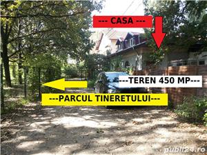 * PARCUL TINERETULUI la doar 20 m - casa cu teren 450 mp - imagine 3