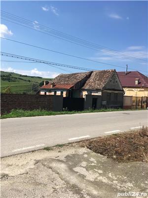 Vand casa saseasca in Seica Mare (Sibiu) central cu teren de 1500 m - imagine 3