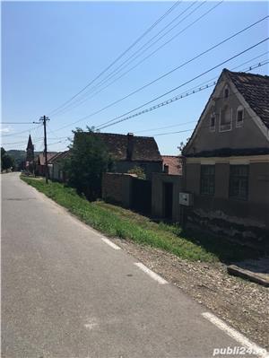 Vand casa saseasca in Seica Mare (Sibiu) central cu teren de 1500 m - imagine 2