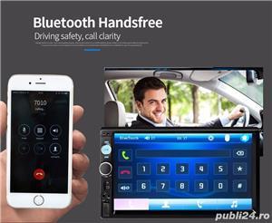 "Player auto display 7""HD touchscreen mirrorlink ,bluetooth,radio,usb ,micro sd,aux+camera marsarier - imagine 11"