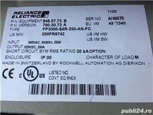 Convertizor motor CC DC Reliance Electric 520VDC 250A FP3000-S6R-250-AN - imagine 4