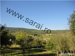 Zona Valea Magherus - 5699mp teren intravilan,front 49m+casa si anexe - imagine 2