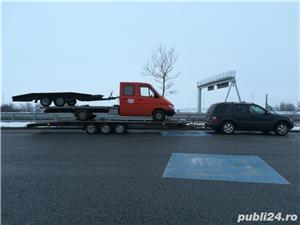 Inchirieri platforme auto pentru dube prelate sau camionete slep remorca  - imagine 7